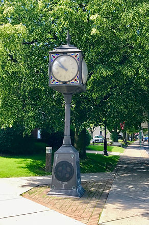 Town of Orchard Park and Village of Orchard Park clock