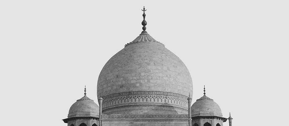 Black and White Mosque