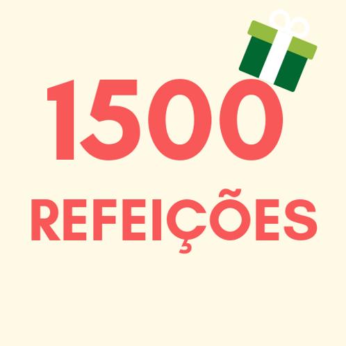 Refeições para 1500 pessoas no Natal :: Natal Sem Fome - FCM
