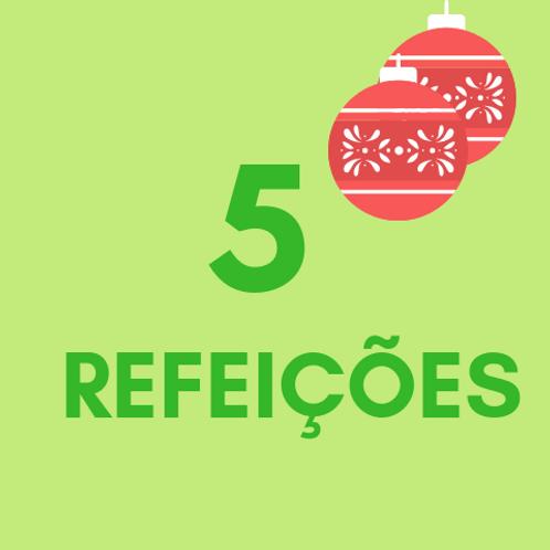 Refeições para 5 pessoas no Natal :: Natal Sem Fome - FC&M