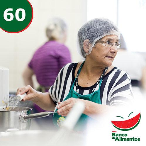 Apoie as oficinas de reaproveitamento integral dos alimentos para cozinheiras