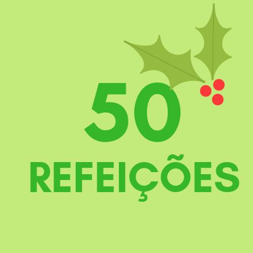 Refeições para 50 pessoas no Natal :: Natal Sem Fome - FC&M