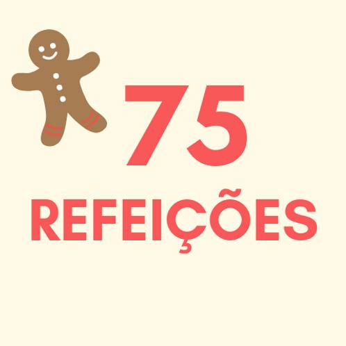 Refeições para 75 pessoas no Natal :: Natal Sem Fome - FCM