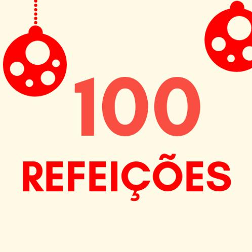 Refeições para 100 pessoas no Natal :: Natal Sem Fome - FC&M