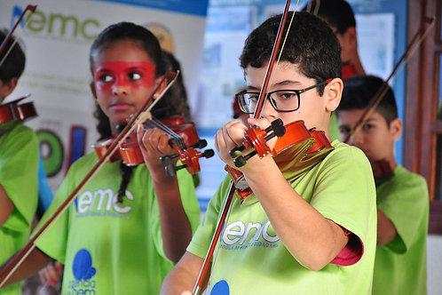 1 mês de aula de música :: ONG Agência do Bem