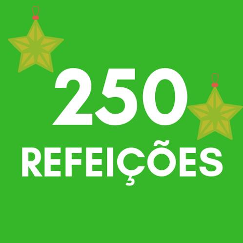 Refeições para 250 pessoas no Natal :: Natal Sem Fome - PNEL