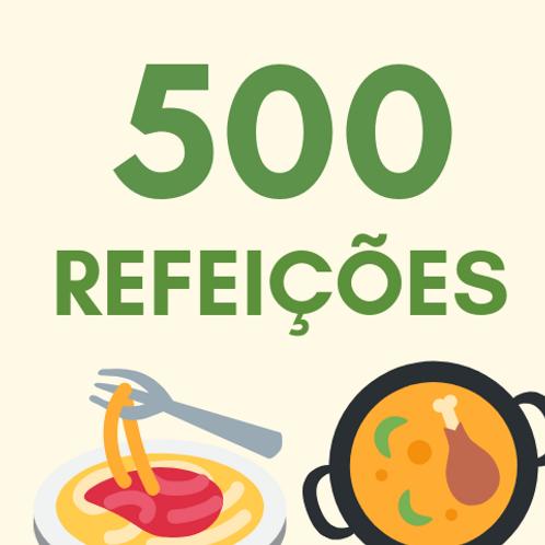 500 Refeições :: Banco de Alimentos