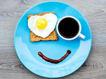 Café da manhã para 1 criança :: Bom Samaritano