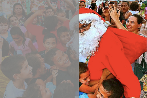 Cota do Papai Noel hohoho :: Bom Samaritano