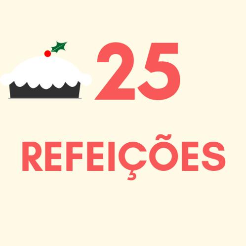 Refeições para 25 pessoas no Natal :: Natal Sem Fome - PNEL