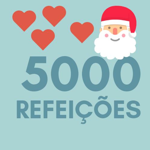 Refeições para 5000 pessoas no Natal :: Natal Sem Fome - FC&M