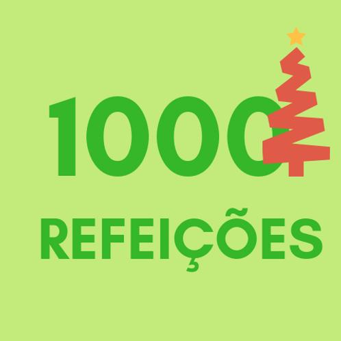 Refeições para 1000 pessoas no Natal :: Natal Sem Fome - FC&M
