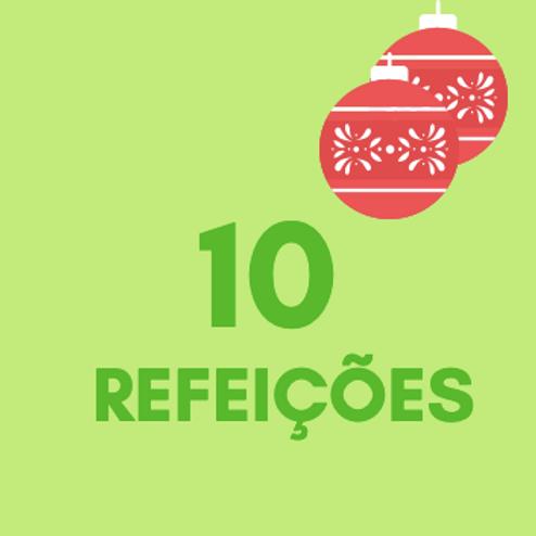 Refeições para 10 pessoas no Natal :: Natal Sem Fome - FCM