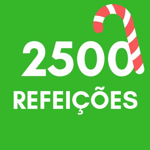 Refeições para 2500 pessoas no Natal :: Natal Sem Fome - FC&M