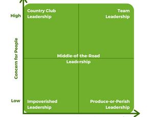 Blake/Mouton Leadership Styles
