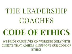 The Leadership Coaches Code Of Ethics