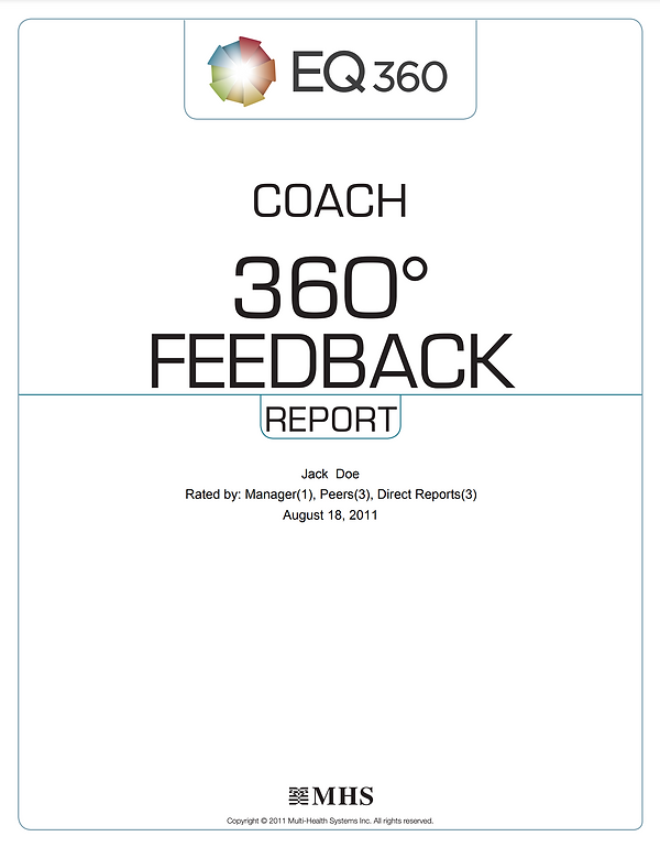 Coach 360 Feedback Report