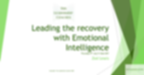 Leading the recovery with Emotional Inte