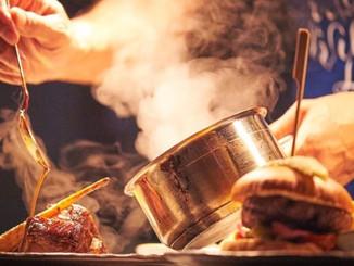 Chefs hard at work...