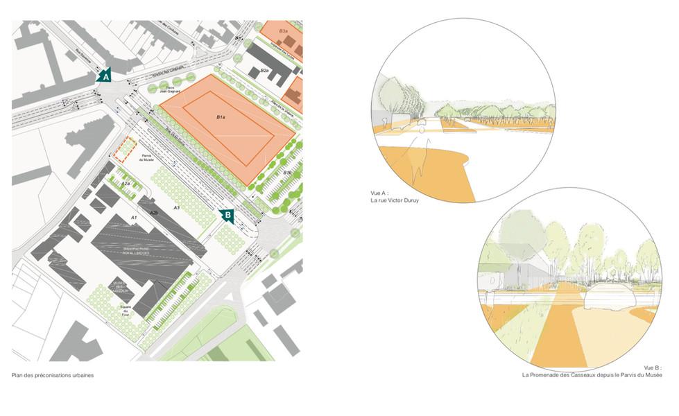 Principes d'aménagement urbain et qualités des voies