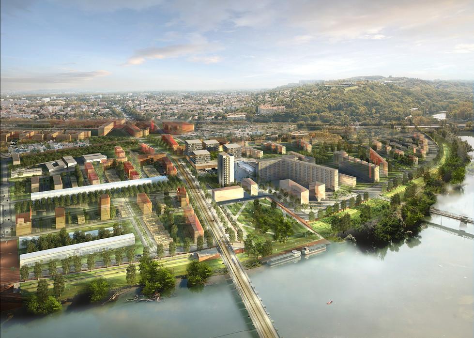 Futur quartier Empalot en 2025