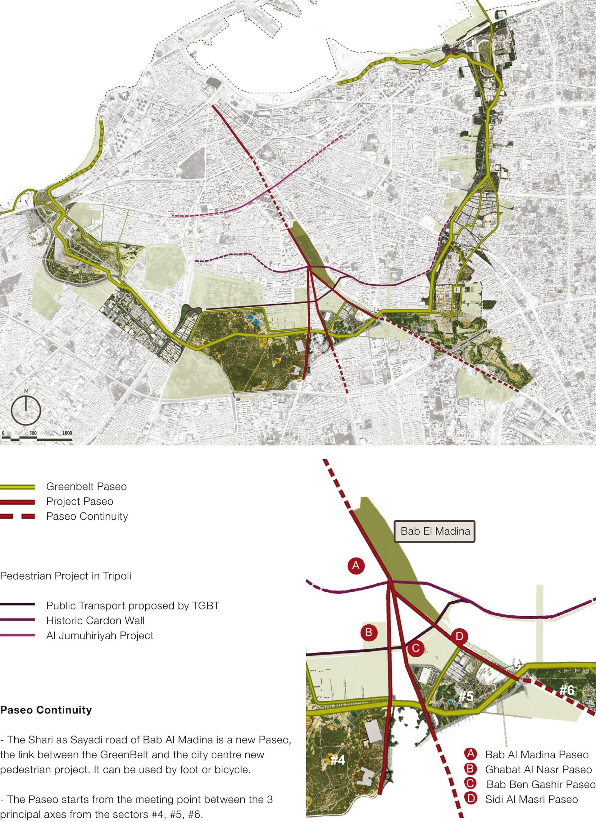 Plan urbain et insertion dans la ville de Tripoli