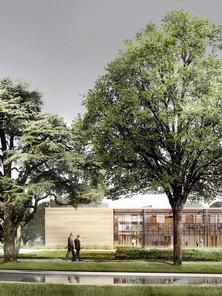 Bâtiment d'accueil et laboratoires de recherche INRA