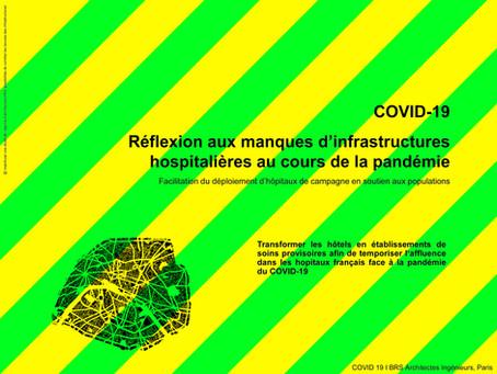 COVID-19 RÉFLEXION AUX MANQUES D'INFRASTRUCTURES HOSPITALIÈRES