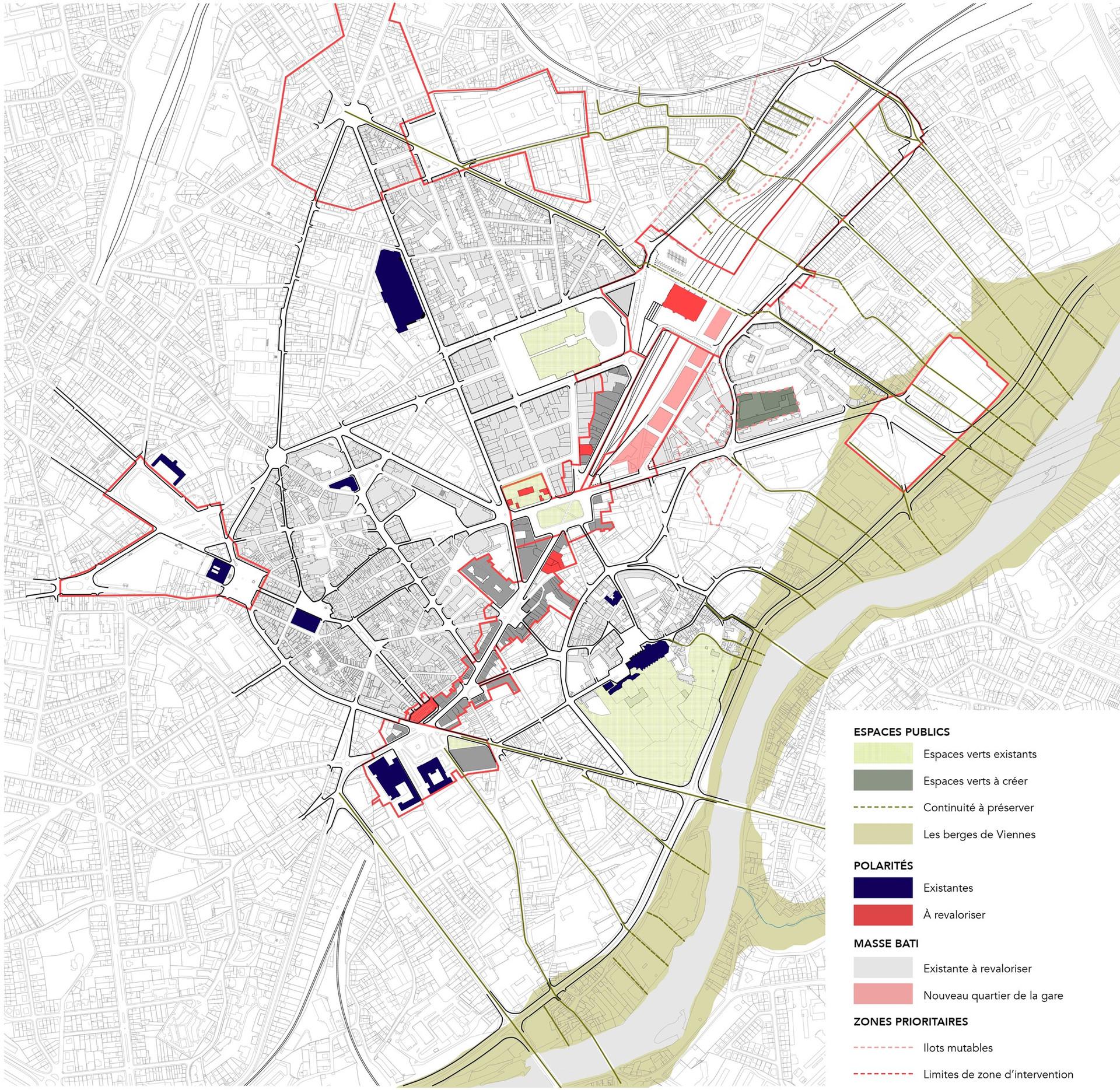 Aménagement du centre ville de Limoges