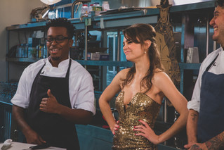 Pics from the filming of Cowboy Kitchen's Pilot