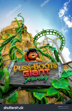 stock-photo-singapore-april-beautiful-puss-in-boots-giant-journey-roller-coaster-ride-at-universal-2