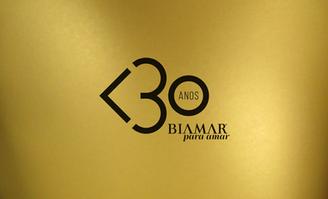 logo de 30 anos para Biamar <3