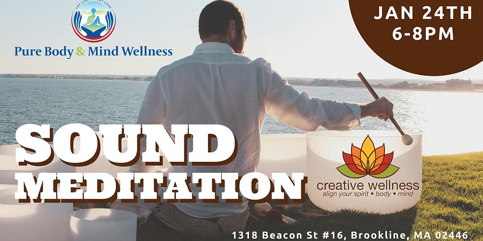 Sound Healing - A Meditative Experience