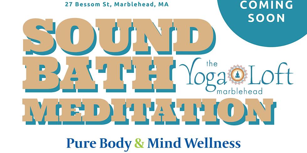 Yoga Loft Marblehead Sound Bath