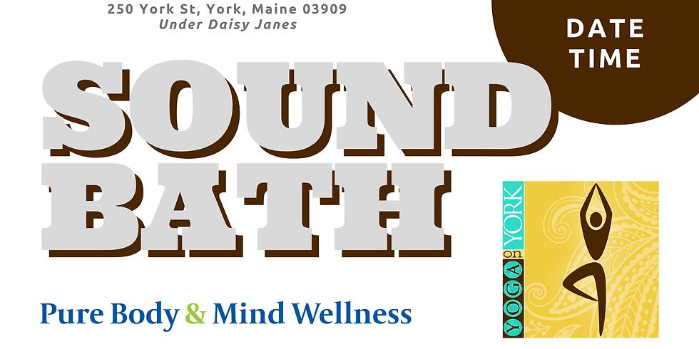 Yoga on York Sound Bath