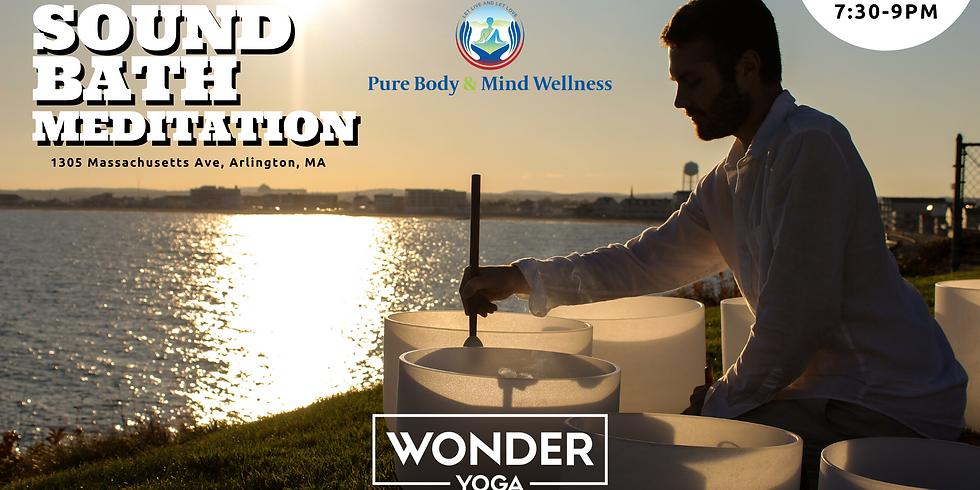 Wonder Yoga January Sound Bath Meditation