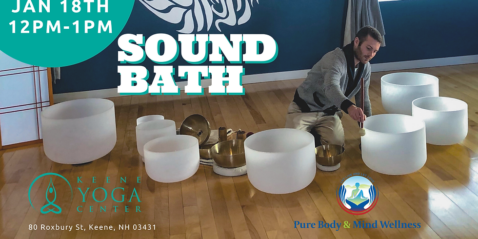 Keene Yoga January Sound Bath
