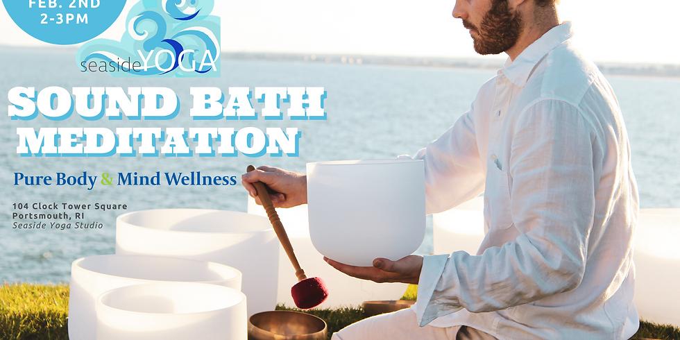Seaside Yoga Sound Bath Meditation