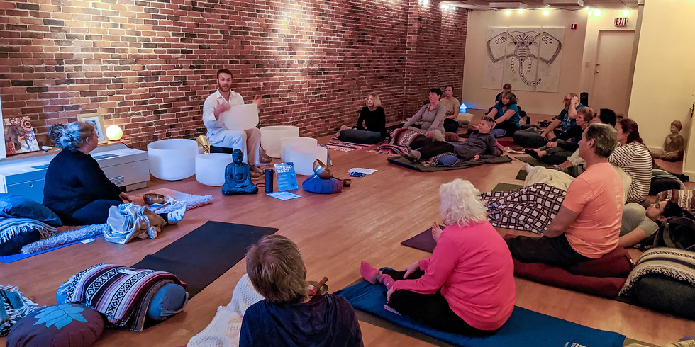 Blossom Yoga Spring Sound Bath