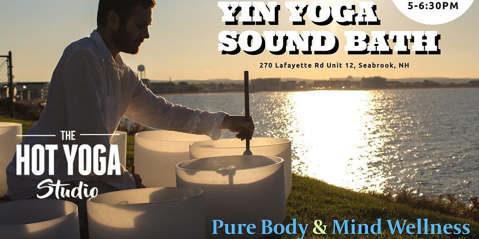 Yin Yoga Sound Bath