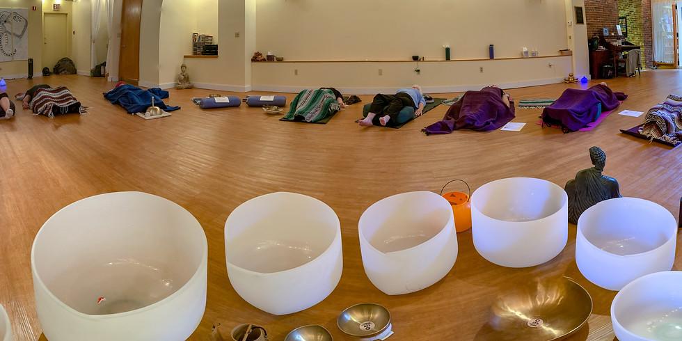 Restorative Yoga & Sound Bath
