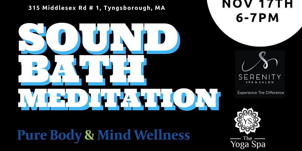 Yoga Spa November Sound Bath