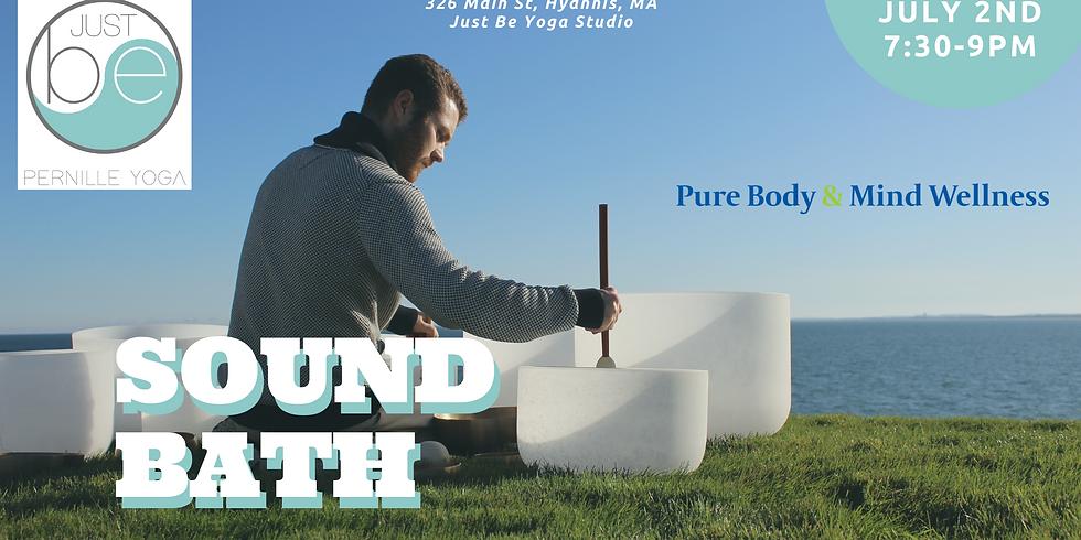 Just Be Summer Sound Bath