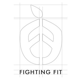 Fighting Fit logo sketch.JPG