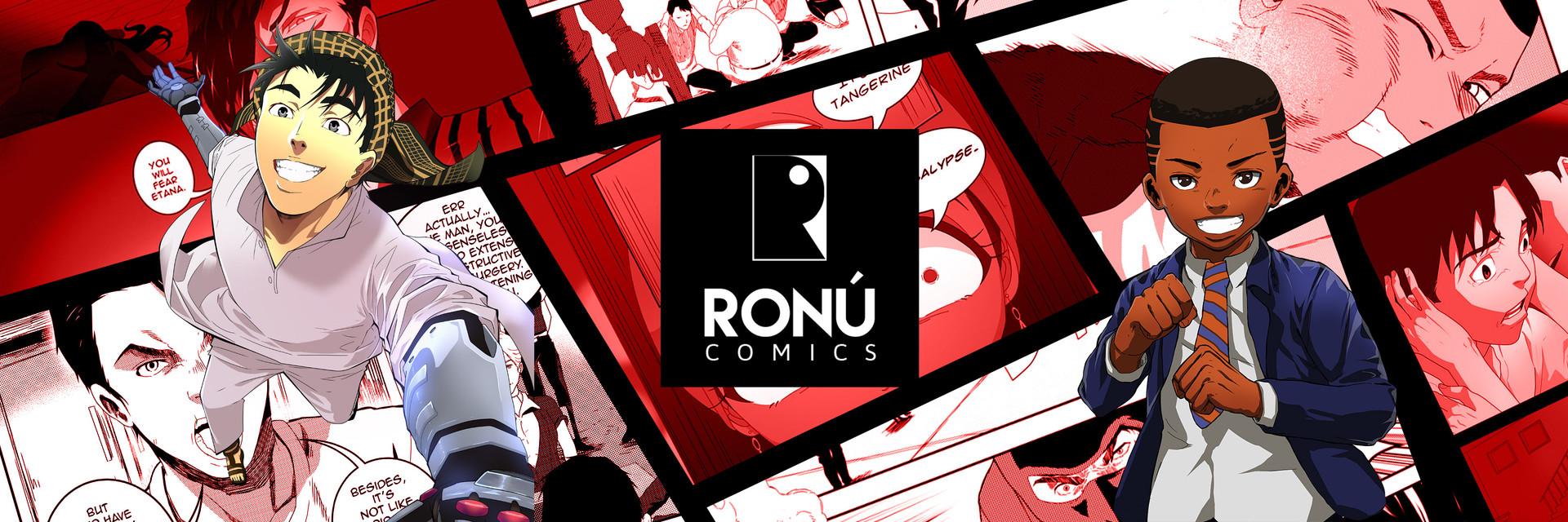 Ronu Comics instagram intro banner