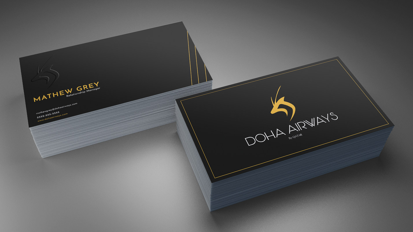 Doha business card