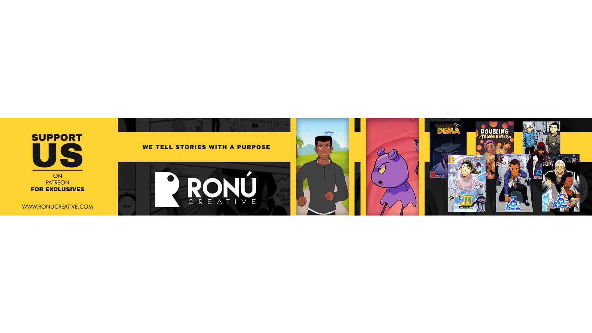 Ronu Creative Banner Design