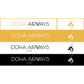 Doha airways different colour styles