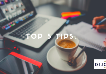 Top 5 tips for a Digital Marketing strategy.