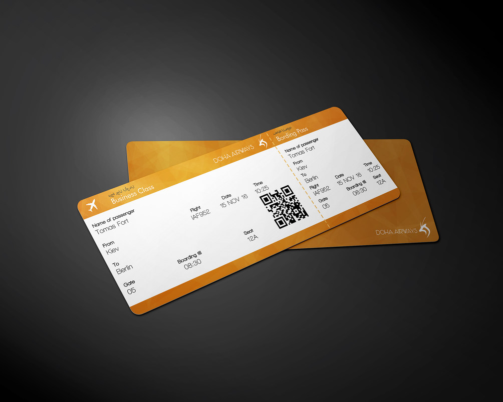 Flight ticket